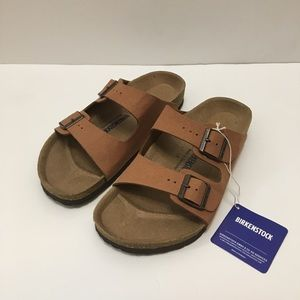 NWT- Birkenstock Arizona 38 Mocha Brown